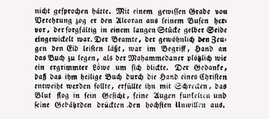 Ausschnitt aus dem Österreichischen Beobachter No.112, 22. April 1822