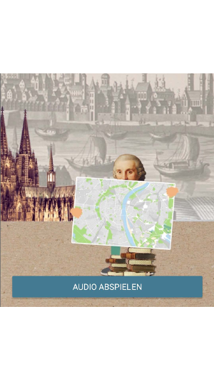 "Los geht's: ""Audio abspielen!"", Grafik: Uni Köln"