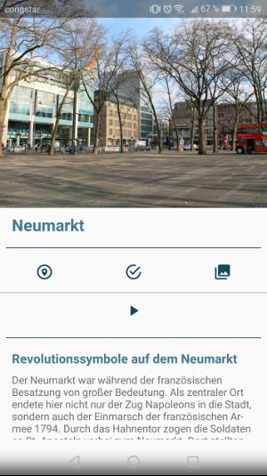 Der Neumarkt in Köln, Foto: Uni Köln